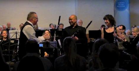 Solo Clarinets at Barnes Music Festival