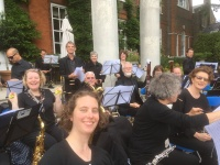 At Trumpeters' House supporting Museum of Richmond