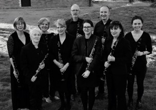 Clarinets in arty b/w ....