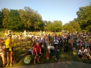 Lovely audience 2019 - hottest Bank Holiday ever!