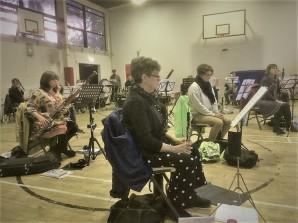 Socially-Distanced Rehearsal 2021